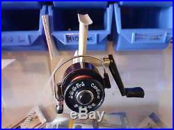 Rare ABU Cardinal 4X fixed spool reel with original box in excellent condition
