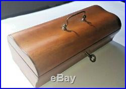 Rare Antique Musical Necessaire Sewing Box Music Box C. 1830's (Watch Video)