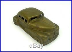 Rare Art Deco Secret Box Streamline Car Futurism 1930 Sculpture Tin