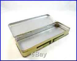 Rare Art Deco Tin Box Bauhaus 1925 Cubist Suprematism Futurism