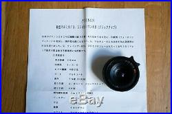 Rare Avenon 28mm f/3.5 LTM lens (in original box & case)
