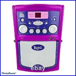 Rare BRATZ Karaoke Machine CD Player System With Original Box & Microphone TESTED
