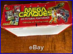 Rare Box of Panini Portugal 2003 Megacraques with 36 packs (Ronaldo Rookie BGS10)