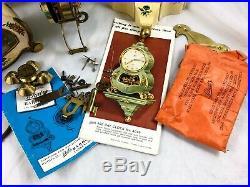Rare Boxed Schatz Clock With Original Box And Shelf