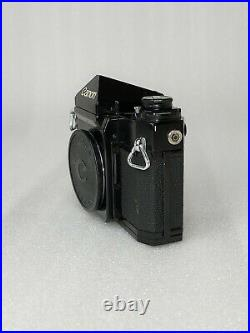 Rare Canon F-1 camera with its original Box