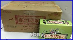 Rare Card Case-Dart 1990 Beetlejuice Trading Cards(12Boxes x 48 Packs)-Popular