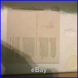 Rare Disney POCAHONTAS MAQUETTE with Original Box and Certificate