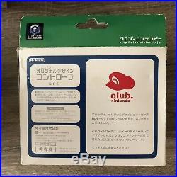 Rare GameCube Club Nintendo Limited Original Design Controller Luigi In Box