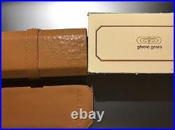 Rare Gerald Genta eyeglasses with original boxes, papers and original lenses