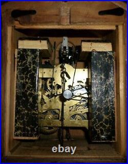 Rare German 3 Bird 8 Day Black Forest August Schatz In Original Box Cuckoo Clock