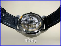 Rare Glashutte Original Senator Chronograph Panorama Date Watch in FULL SET