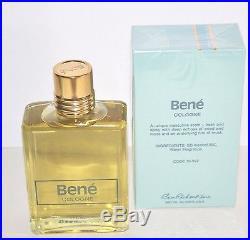Rare -HTF Vintage Original Bene Cologne By Ben Rickert New Sealed Box 4 oz