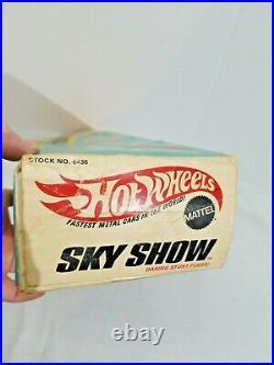 Rare Hot Wheels Sky Show Original Box And Directions