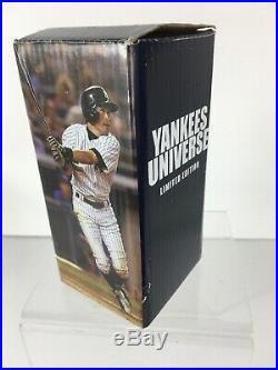 Rare Ichiro Suzuki New York Yankees Universe Bobblehead SGA Original Box New