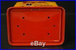Rare Kalon Popeye Tin Litho Register Mechanical Bank + Original Box Linemar