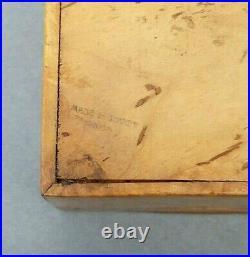Rare Karelian Birch Box Russian Wood Soviet Union Vintage Rare Burlwood USSR Vtg