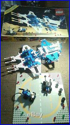 Rare Lego 6980 Space Galaxy Commander 100% Complete Original Box & Instructions