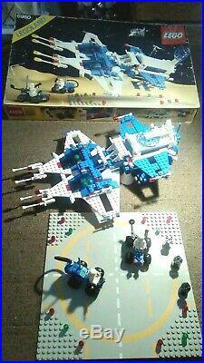 Rare Lego 6980 Space Galaxy Commander 100% Complete Original Box & Instructions