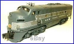 Rare Lionel Trains #2354 New York Central F-3 Diesel 3 Original Boxes & Extras