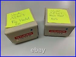 Rare Lot Rec & Repro Head Studer A62/b62 Vintage Nos Original Boxed