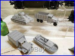 Rare Marx 52965 O Scale Beautiful Army Military Train Set in Original Box