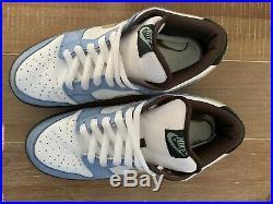 Rare Nike SB Homer Sz. 10 Original Skateboarding Dunk Silver Box