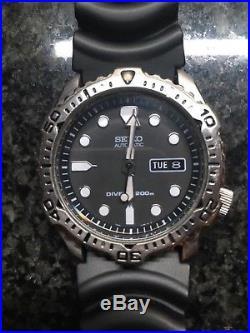 Rare Original Seiko SKX171 7S26-7020 Divers Watch Boxed (SKX 007/009)