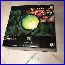 Rare Sealed Xbox Original Star Wars Tetris Console Bundle BNIB Boxed