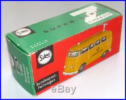 Rare Siku V320 VW Bus T1 Bundespost-Peilwagen VN MINT w Original Box Volkswagen