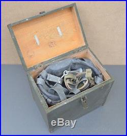 Rare Soviet Horse Gas Mask / Respirator With Box Ww2 / Cold War Cavalry Original