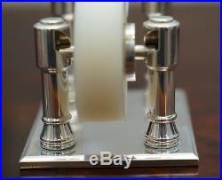 Rare Sterling Silver Asprey London Luxury Premium Tape Dispenser Original Box