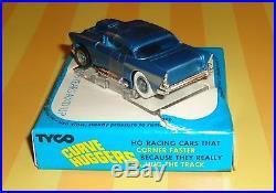 Rare Tyco Tilt Nose 1957 Chevrolet Belair Ho Slot Car Mint Boxed Wow