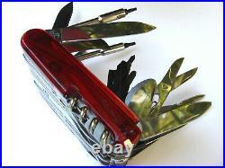 Rare Victorinox SwissChamp XXLT with Butane Lighter- New in box
