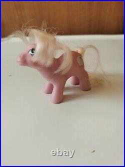 Rare Vintage 1980s My Little Pony Lullabye Nursery boxed With Original Baby Pony