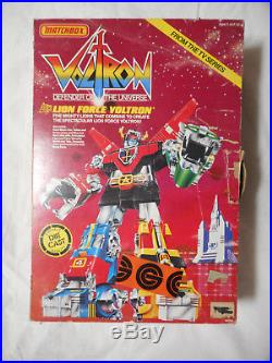 Rare Vintage 1981 Matchbox Lion Force Voltron With Original Box