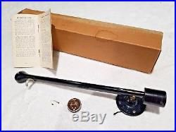 Rare Vintage Australian MBH 14 Transcription Tonearm Original Box Cartridge VGC