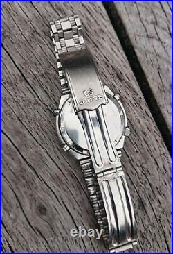 Rare Vintage Seiko 7A28-7079 Grey Ghost Chronograph Watch 1983 Original Box vgc
