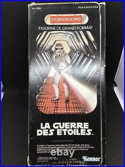 Rare Vintage Star Wars 1977 12 Inch Stormtrooper in Original Box (French Ver.)