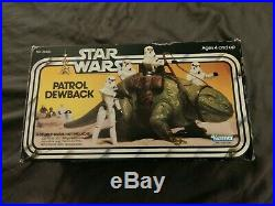 Rare Vintage Star Wars Patrol Dewback in the Original Box! 1979 In good shape