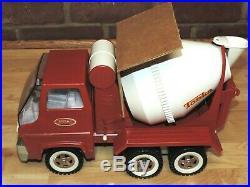 Rare Vintage Tonka Cement Mixer Truck #620 & Original Box Nos