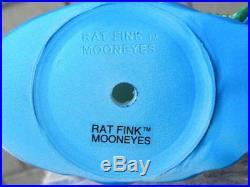 Rat Fink Surfs Up design Ed Roth figurine Soft Vinyl with original BOX RAREF/S