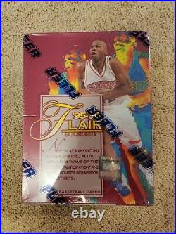 Read! 1995-96 Fleer Flair Series 2 Basketball New Sealed Box Rare Sp Inserts