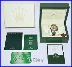Rolex Daytona 116523 Box and Papers with original Mother of Pearl Dial RARE