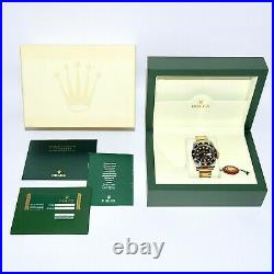 Rolex Submariner 116613LN Rare Factory Original Diamond Dial Box and Papers