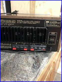 SANSUI G-5000 STEREO RECEIVER, 45 WATTS PER Channel RARE In Original Box Japan
