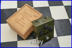 SOVTEK BIG MUFF Pi Fuzz Guitar Pedal with Original Wooden Box 90s Russian RARE
