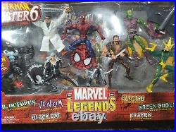 SPIDERMAN VS SINISTER 6 2004 Toybiz Marvel Legends Factory Sealed RARE SP-1