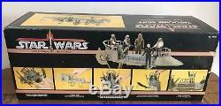 STAR WARS Vintage Tatooine Skiff & Original Box + Ins & inner Kenner 1984 Rare