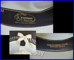 STETSON Open Road TWENTY FIVE 7 1/8 Rare Vintage Fedora with Box