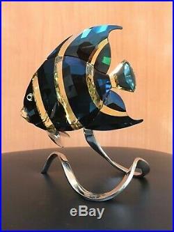 SWAROVSKI MORODA ANGEL FISH in ORIGINAL BOX & CERTIFICATE rare and hard to find